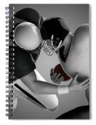 Football Collision Spiral Notebook