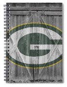 Green Bay Packers Spiral Notebook