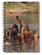 Hampi Ghats Spiral Notebook
