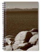 Lake Tahoe Spiral Notebook