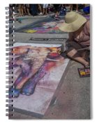 Lake Worth Street Painting Festival Spiral Notebook