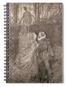 Mary Queen Of Scots (1542-1587) Spiral Notebook