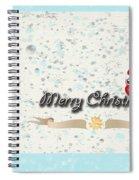 Christmas Card 29 Spiral Notebook