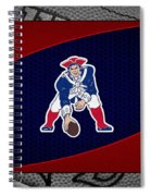 New England Patriots Spiral Notebook