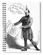 Prince Otto Von Bismarck  Spiral Notebook