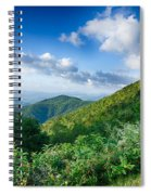 Sunrise Over Blue Ridge Mountains Scenic Overlook  Spiral Notebook