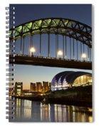Tyne Bridge Spiral Notebook
