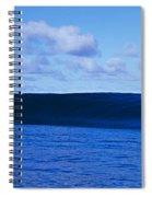 Waves Splashing In The Sea Spiral Notebook