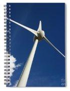 Wind Turbine Spiral Notebook