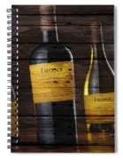 Wine Spiral Notebook