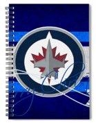 Winnipeg Jets Spiral Notebook