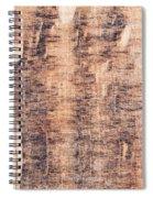 Wood Background Spiral Notebook
