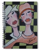 Pikotine Art Spiral Notebook