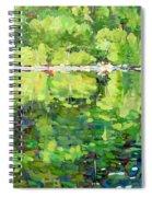 911-sherborne Lake Spiral Notebook