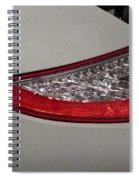 911 Taillight Spiral Notebook