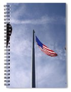 911 Tribute At Winslow Arizona Spiral Notebook