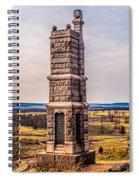 91st Pennsylvania Infantry Monument Spiral Notebook