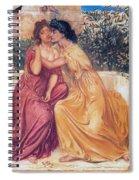 Sappho And Erinna In A Garden Spiral Notebook