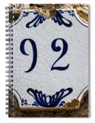 92 Spiral Notebook