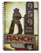 95.9 The Ranch Spiral Notebook