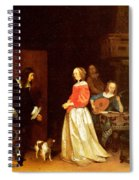 The Suitors Visit Spiral Notebook