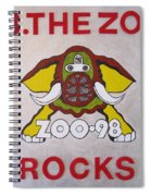 98.the Zoo Rocks Spiral Notebook