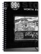 99 Cents - Worth Every Penny Spiral Notebook