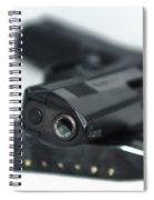 9mm Gun And Ammo Spiral Notebook