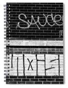 9th Ward Creativity Bw Spiral Notebook