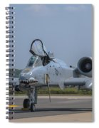 A-10 Thunderbolt Warthog Spiral Notebook