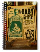 A Baby In Every Bottle Spiral Notebook