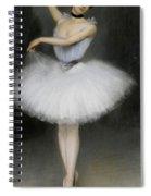 A Ballerina Spiral Notebook