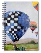 A Balloon Disaster Spiral Notebook