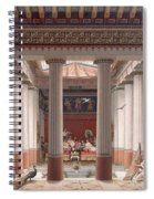 A Banquet In Ancient Greece Spiral Notebook