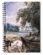 A Barge On The Stour Spiral Notebook