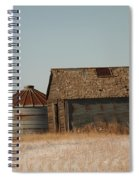 A Barn And A Bin Spiral Notebook