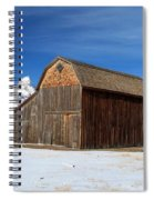A Barn With A View Spiral Notebook