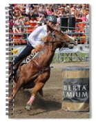 A Barrel Of Fun Spiral Notebook