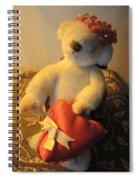 A Bear's Love Spiral Notebook