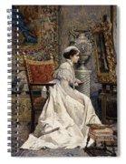 A Beautiful Connoisseur Spiral Notebook