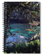 A Beautiful Cove At Point Lobos Spiral Notebook