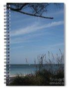 A Beautiful Day At A Florida Beach Spiral Notebook