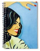 A Beautiful Girl 2 Spiral Notebook
