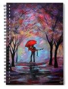 A Beautiful Romance Spiral Notebook