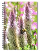 A Bee's Work Is Never Done Abwndwc Spiral Notebook