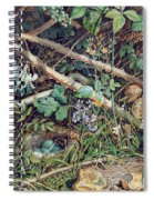 A Birds Nest Among Brambles Spiral Notebook