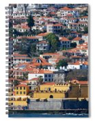 A Bit Of Funchal Spiral Notebook