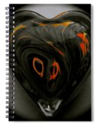 A Bit Of Heart Burn Spiral Notebook