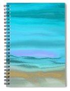 A Bit Of Snow Spiral Notebook
