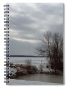 A Bleak Midwinter Day Spiral Notebook